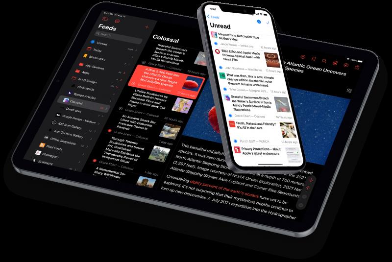 Elytra version 2.4 running on iPadOS and iOS 15